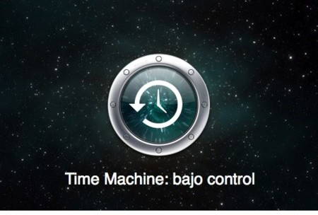 Controla Time Machine al cien por cien