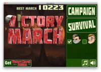 Victory March, un alocado y divertido juego para OS X