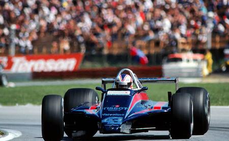 Nigel Mansell Austria 1980