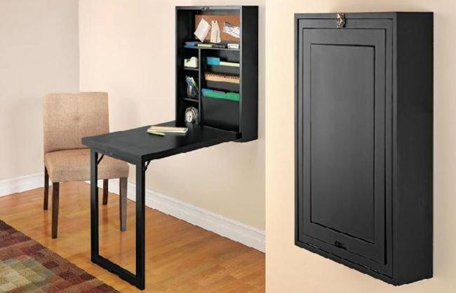 escritorio plegable de pared