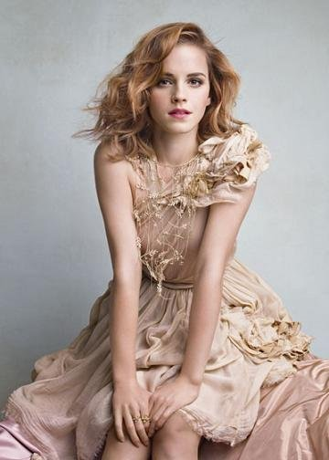 Emma Watson portada de Vanity Fair junio 2010