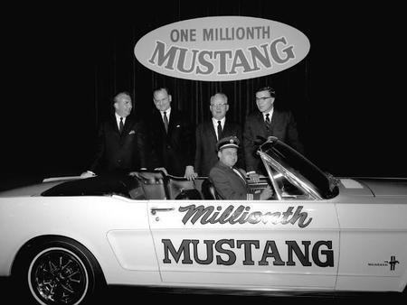 La curiosa historia del Mustang No.00001