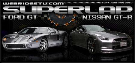 Jugando al Gran Turismo 5 en la realidad: Ford GT vs Nissan GT-R