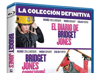 Trilogía Bridget Jones, en blu-ray, con un 18% de descuento en Amazon