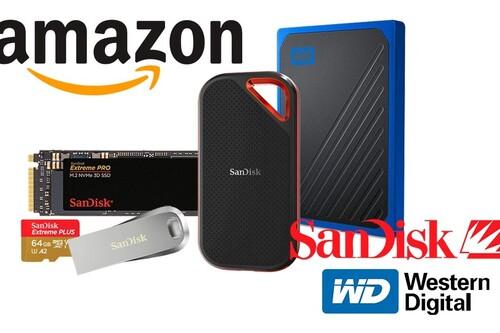 GB y TB para tu ordenador, tu smartphone o tu cámara al mejor precio: las ofertas en almacenamiento Western Digital y SanDisk de la semana en Amazon