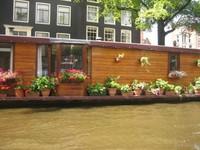 Los barcos vivienda de Ámsterdam