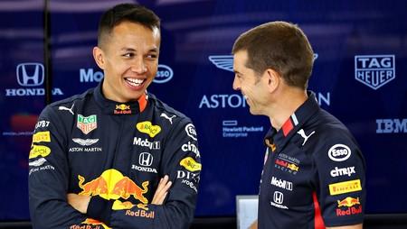 Albon Red Bull Belgica F1 2019
