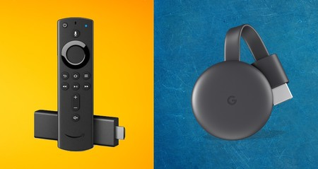 Google Amazon Chromecast Prime Video