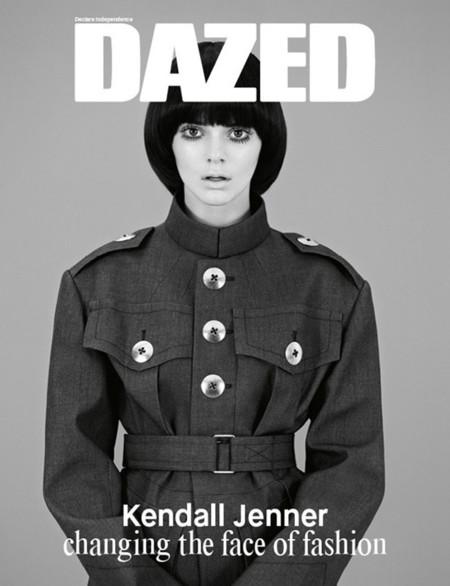 Kendall Jenner Dazed portada
