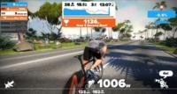 Zwift es un multijugador online que tendrás que jugar sentado en tu bicicleta estática