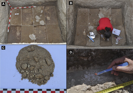 Detalle De Las Excavaciones En Las Piletas Romanas De Salazones De Baelo Claudia