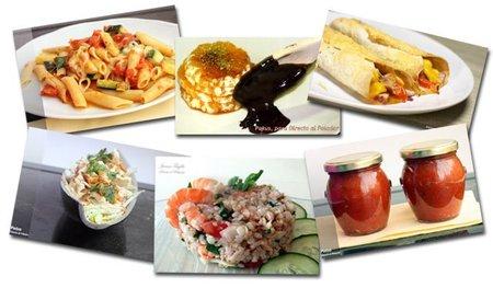 Menú semanal del 2 al 8 de mayo de 2011