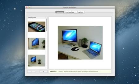 Widgerador crea WIdgets iBook Author galería
