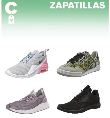 Chollos en tallas sueltas de zapatillas Under Armour, Reebok, Adidas o Nike  en Amazon