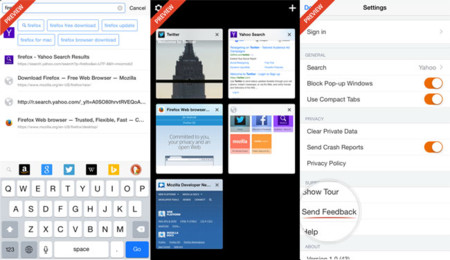 Firefox iOS Preview