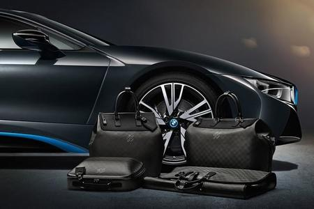 El equipamiento más chic para el BMW i8, maletas en fibra de carbono de Louis Vuitton