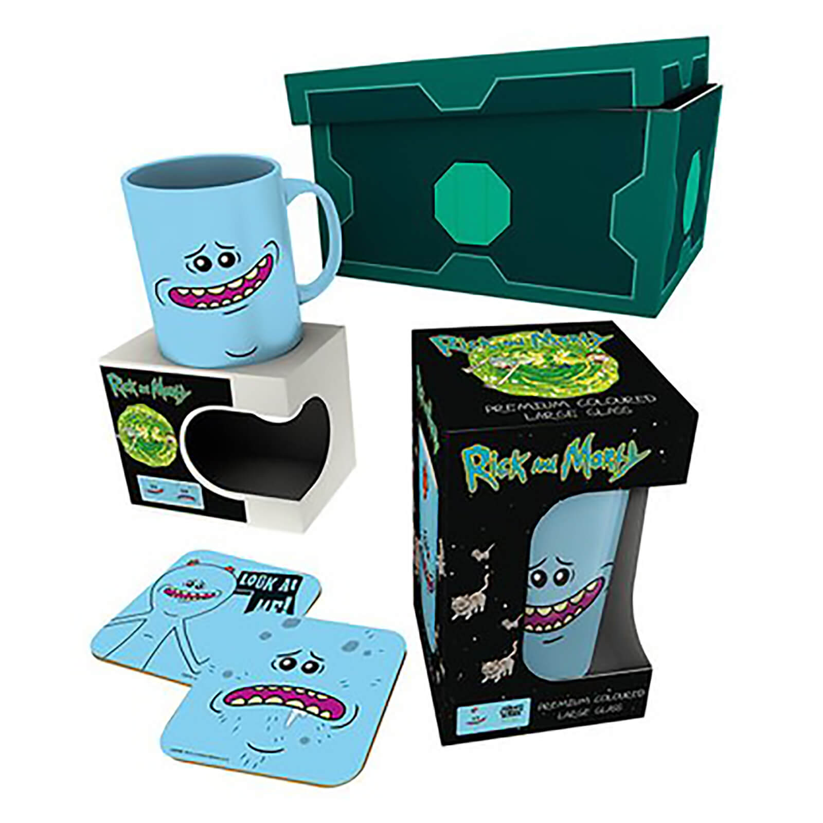 Caja regalo Meeseeks 'Rick y Morty'