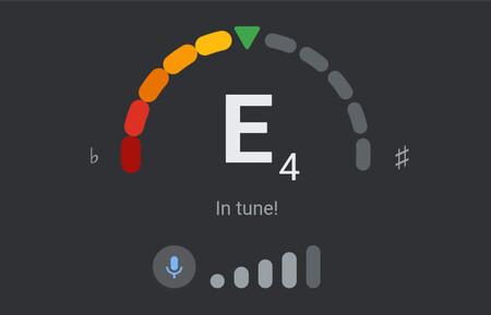 Cómo activar el nuevo afinador de instrumentos musicales de Google que esconde en su buscador