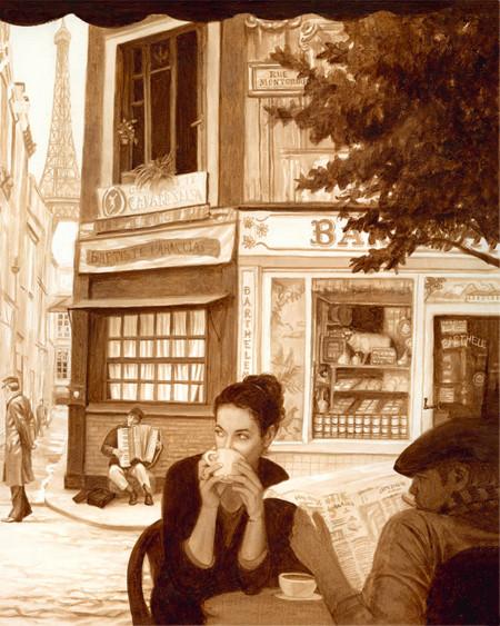 Coffee Paintings 12