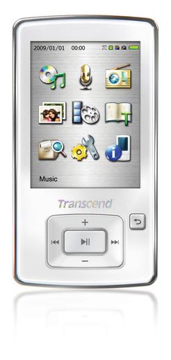Transcend MP860, compatible con múltiples formatos