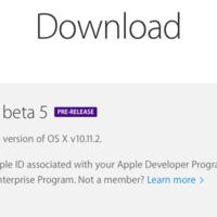 Apple libera la quinta beta de OS X 10.11.2 para desarrolladores y beta testers