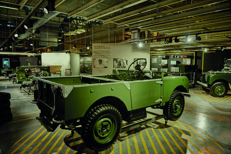 Defender Production Line