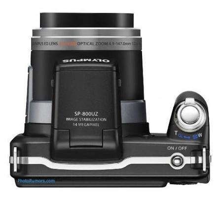 Olympus SP-800UZ y SP-600UZ filtradas