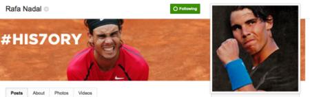 Rafael Nadal hará un hangout en Google+ para responderle preguntas a sus fans