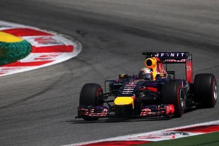 Sebastian Vettel libró una sanción en Austria