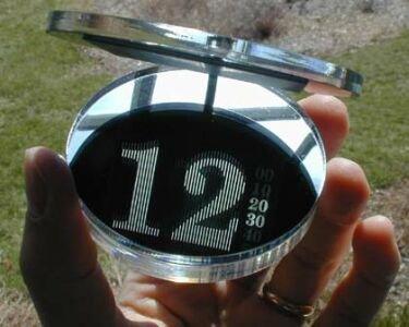 Digital Sundial, el reloj solar que da la hora con cifras