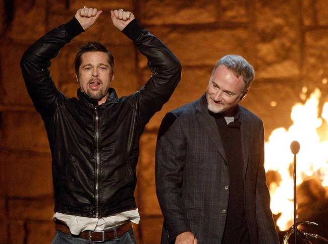 Brad Pitt y David Fincher