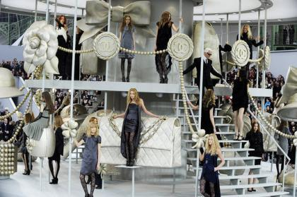 Chanel en la Semana de la Moda de Paris otoño/invierno 2008/2009
