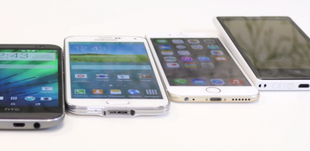 Mejores smartphones 2014 juntos