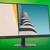 Con un precio tan reducido como sus marcos el monitor Lenovo C24-25 sólo cuesta 106 euros en Amazon