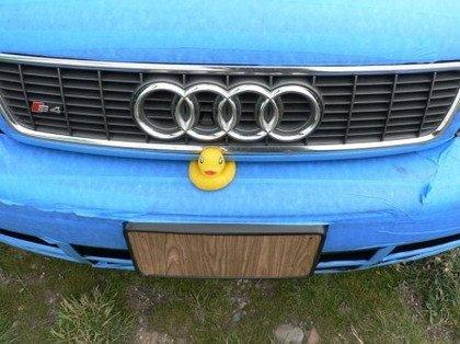 Audi S4 Pintado Cinta Embalar