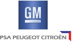Logo General Motors PSA Peugeot Citroën