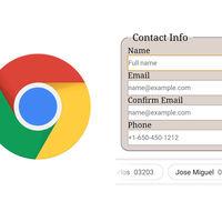 Chrome para Android prueba una nueva barra para mejorar el autocompletado de formularios
