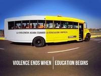 La violencia acaba cuando la educación comienza