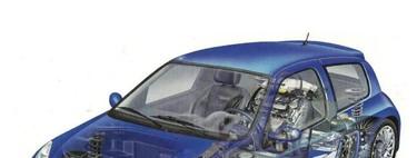"""Renault Clio V6, yo también conduje el """"todo atrás"""" anterior al Twingo"""