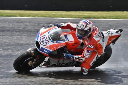Andrea Dovizioso es el más rápido de la FP2 sin usar carenados aerodinámicos, Jonas Folger segundo