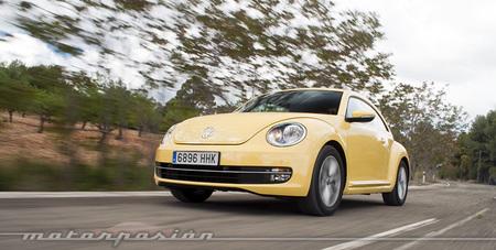 Volkswagen Beetle 1.2 TSI, prueba (conducción y dinámica)