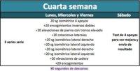 Apúntante al reto de abdominales isométricos: Semana 4 (VI)