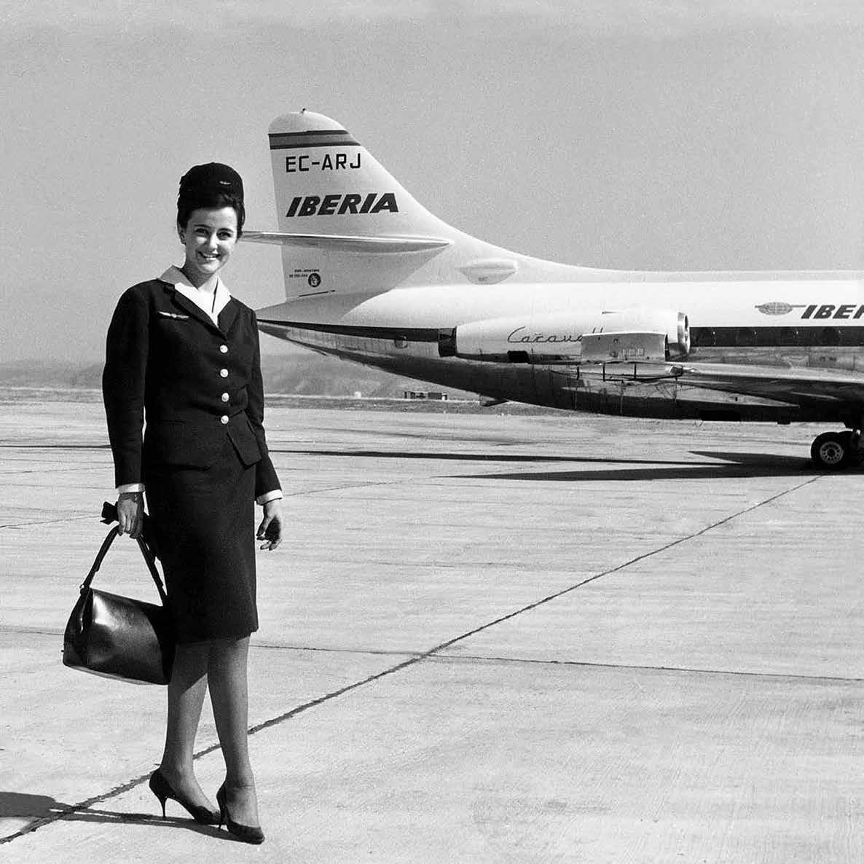 Foto de Histórico sobre los outfits de la tripulación de Iberia (2/11)