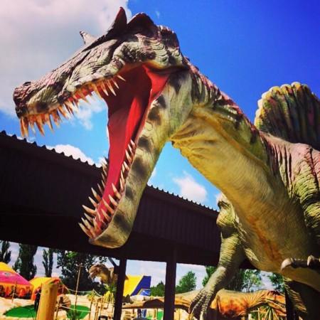 Golf y dinosaurios se unen en un nuevo parque temático de Londres