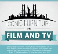 Descubre y recuerda 12 muebles icónicos del cine y la televisión