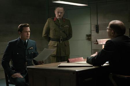 Escena Brad Pitt En Aliados