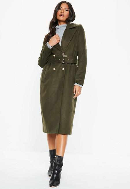 El abrigo perfecto 24/7 está en Missguided por 65,99 euros y envío gratis
