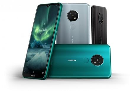 Nokia 7.2 y Nokia 6.2: mismo diseño y triple cámara para los nuevos móviles de gama media finlandeses