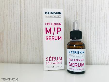 He probado el sérum de colágeno de Matriskin y me ha quedado la piel suavísima a pesar del frío