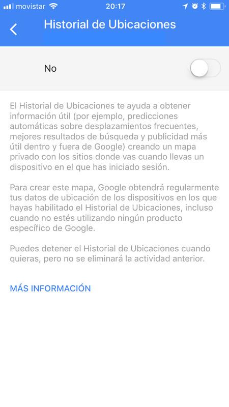 Google Maps Boton Historial Ubicaciones